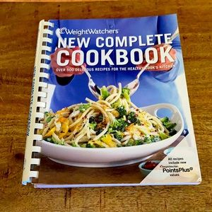 5$ add on Weight watchers new complete cookbook